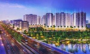phối cảnh dự án căn hộ akari city nam long